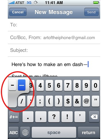 making-an-em-dash-on-the-iphone